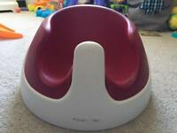 Red Mamas & Papas seat snug chair