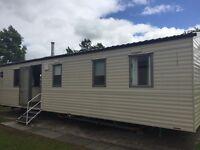 8 berth deluxe caravan for hire