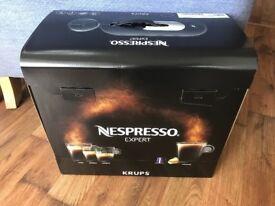 Nespresso Expert coffee machine BNIB