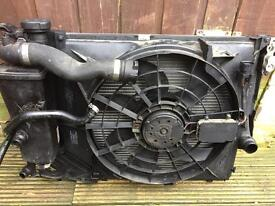 Bmw e46 328 complete radiator