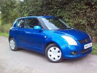2010 10 Suzuki Swift 1.3 SZ3 - Only 40000 Miles - Full Service History - 2 Owners