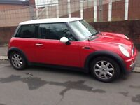MINI COOPER 2001 MODEL , GOOD CONDITION , PERFECT RUNNER , MOTED AND TAXED
