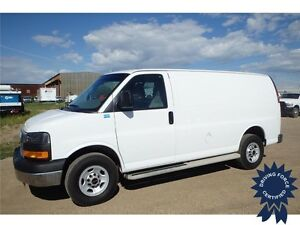 2015 GMC Savana Cargo Van - 4.8L Gasoline Engine, 18,681 KMs