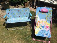 Children's outdoor chairs