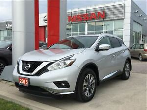 2015 Nissan Murano SL AWD, Navigation, Moon roof, Blue Tooth
