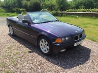 BMW E36 CONVERTIBLE 1999 SPARES OR REPAIR