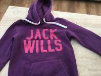 Purple Jack Wills Hoodiec