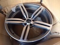 Bmw e60 5 series M5 or M6 20 inch alloy wheel front & 1 rear original