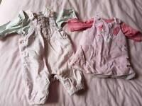 Girls tiny baby bundle