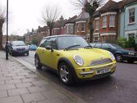 Mini Cooper yellow full MOT low mileage