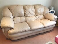 Three and two seater sofas, available for uplift now