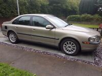Volvo s80 with low mileage