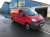 2007 Vauxhall vivaro 137k £1800 comes with 12 months mot