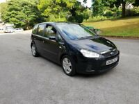 2008 Ford C-Max 1.6 TDCi Style Manual 5dr Black Long MOT Very Clean Recent Service