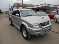 2003 03 Mitsubishi l200 warrior 2.5 t/diesel , 1 local owner from new. 30 + cars in stock.