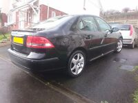 Saab 9-3 Vector Sport TiD 120, Mot March 18, cambelt and water pump done, Parrot hands-free kit.