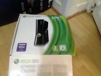 XBOX 360 2 contolers , 4 Games, Boxed