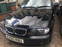 BMW 3 SERIES 320D DIESEL 4 DOORS MANUAL 1 OWNER FROM NEW
