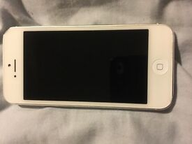 iPhone 5 16gb white Immaculate condition