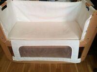 Crib Snuz pod for baby to sleep near the parents