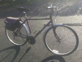 Mans Raleigh Pioneer Bike