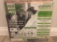 Brand new HiB demista heated mirror pad