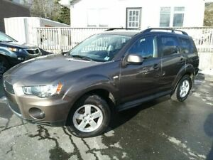 2012 Mitsubishi Outlander ES | AWD | Low Low PAYMENTS |