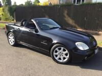 Mercedes SLK 230 Kompressor Auto with FSH & FULL MOT !