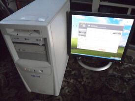 MESH Minitower PC - AMD processor XP2800+