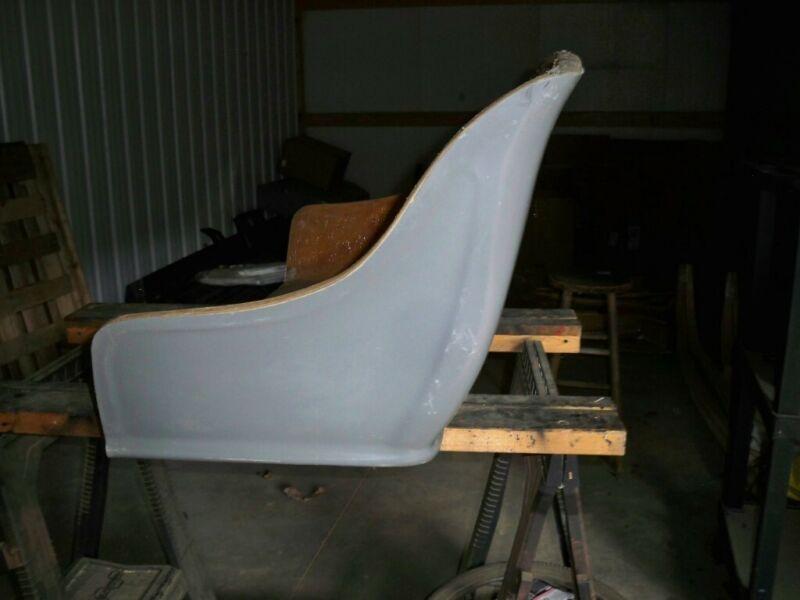 New Amish made Fiberglass buggy seats