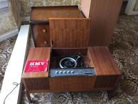 HMV stereomaster radio & record player