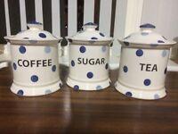 Tea, coffee and sugar set