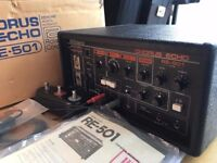 Roland RE-501 Tape Space Echo. Minty