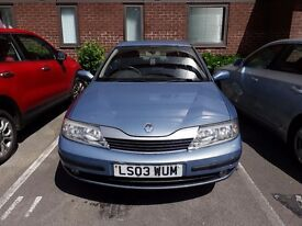 Renault Laguna, just MOT'ed, less than 99,000 miles, full service history