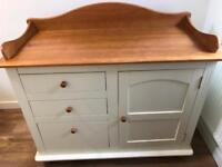 Baby changing unit (solid wood)