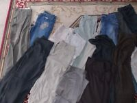 womans trousers/jeans / 23 pairs