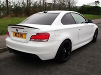 2009 BMW 120D M SPORT *COUPE* ALPINE WHITE!! FULL MOT LIKE MINI 320D GOLF LEON ASTRA A3 A4 FOCUS