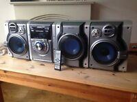 panasonic hifi stereo system 450 watt
