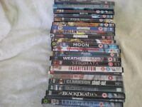 Collection of 22 dvds