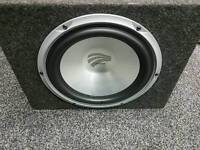 High end car audio Subwoofer and amplifier