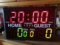 MTS-288 Multi-Sport Digital Scorer & Time Board