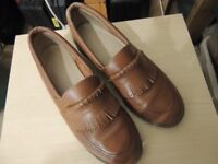 BOWLS SHOES - LADIES - BROWN SIZE 6