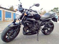 Yamaha Fazer FZ6 S2 Naked Black