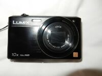 PANASONIC SZ9 LUMIX Digital Camera - Black - 10X Optical Zoom