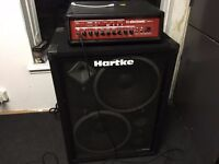 TC Electronics BH500 + Hartke 2x15 500W Bass Rig - Bargain for Quick Sale