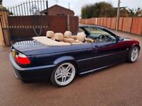 BMW e46 325i convertible M sport fully loaded