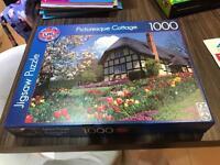 Picturesque Cottage Large Jigsaw 1000 pieces 70x50cm