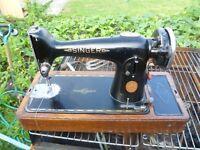SINGER 201K SEMI-INDUSTRIAL Sewing Machine( IDEAL FOR CANVAS, DENIM