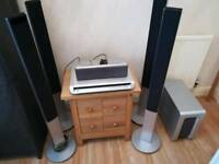 Sony surround sound system DAV SR4W .