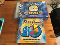 2 x Trivial Pursuit Board Quiz Games for £4! 20th Anniversary Edition and DVD TV Games Edition.
